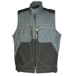 GILET CRAFT WORKER ELECTRICIEN GRIS CONVOY/NOIR