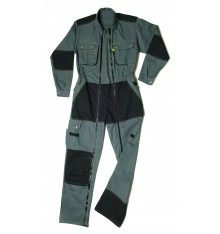 COMBINAISON 2 ZIP CRAFT WORKER ELECTRICIEN GRIS CONVOY/NOIR