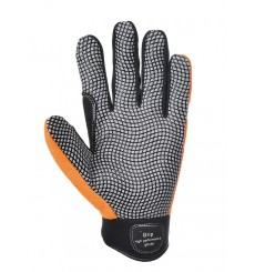 GANTS CONFORT GRIP ORANGE/GRIS