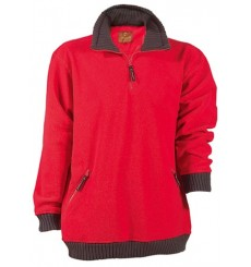 PULL ANGARA POLAIRE 350 G/M2 ROUGE
