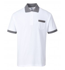 Polo blanc CRAFT