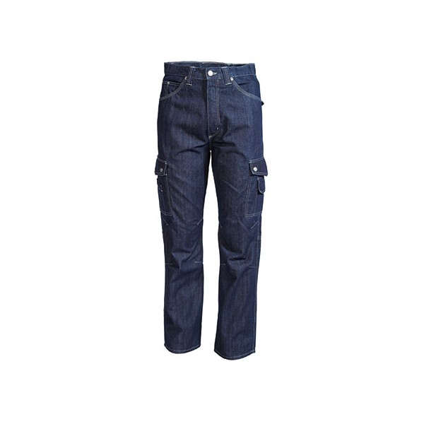 PANTALON JEAN MULTIPOCHES 100% coton 350GR CRAFT WORKER
