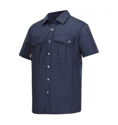 CHEMISE RIBSTOP MANCHES COURTES