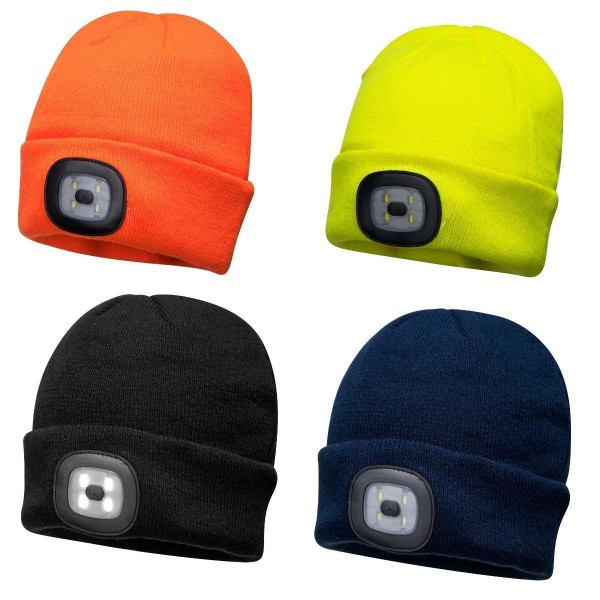 BONNET BEANIE LED RECHARGEABLE