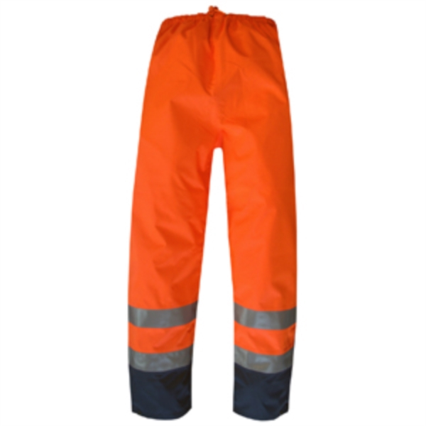 PANTALON BREATHANE HI-VIZ ORANGE/MARINE 3M