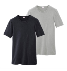 TEE SHIRT COL ROND M. COURTES FROID STATIQUE DEGRE 3